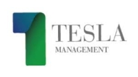 Logotipo Tesla Management